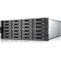 QNAP Turbo NAS TS-EC2480U-E3-4GE-R2 24 x Total Bays SAN/NAS Server - 4U - Rack-mountable - Intel Xeon Quad-core (4 Core) - 4 GB RAM DDR3 SDRAM - Serial ATA/600 - RAI
