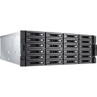 QNAP Turbo NAS TVS-EC2480U-SAS-RP R2 24 x Total Bays SAN/NAS Server - 4U - Rack-mountable - Intel Xeon E3-1246 v3 Quad-core (4 Core) 3.50 GHz - 8 GB RAM DDR3 SDRAM -