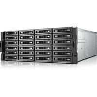 QNAP Turbo NAS TS-EC2480U-I3-8G-R2 24 x Total Bays SAN/NAS Server - 4U - Rack-mountable - Intel Core i3 i3-4150 Dual-core (2 Core) 3.50 GHz - 8 GB RAM DDR3 SDRAM - S