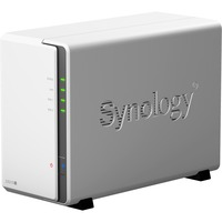 Synology DiskStation DS216j 2 x Total Bays SAN/NAS Server - Desktop - Marvell Armada 385 385 Dual-core (2 Core) 1 GHz - 512 MB RAM DDR3 SDRAM - Serial ATA/600 - RAID