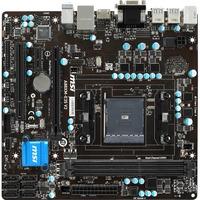 MSI A88XM-E35 V2 Desktop Motherboard - AMD A88X Chipset - Socket FM2+ - Micro ATX - 1 x Processor Support - 32 GB DDR3 SDRAM Maximum RAM - 1.87 GHz, 1.33 GHz, 1.60 G