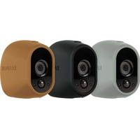 Arlo Case for Wireless Camera - Black, Brown, Grey - Water Resistant, UV Resistant - Silicone