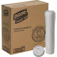 Dixie Smart Top Reclosable Hot Cup Lids DXETP9542CT