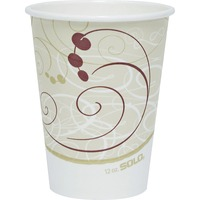 Solo Cup Single-sided Poly Hot Cups SCC412SMJ8000CT