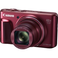 Canon PowerShot SX720 HS 20.3 Megapixel Compact Camera - Red