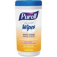 Purell Citrus Scent Hand Sanitizing Wipes GOJ912206CMRCT