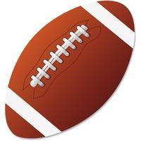 Ashley Football Magnetic Whiteboard Eraser ASH10031