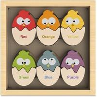 BeginAgain Toys Color 'N Eggs Matching Game BGAB1501