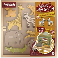 BeginAgain Toys What I Like Safari Story Box BGAH1503
