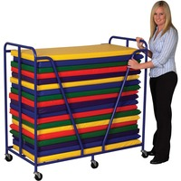 Early Childhood Resources Rest Mat Trolley ECR0668