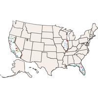 Roylco USA Map Collage Board RYLR52027