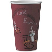 Solo Bistro Design Disposable Paper Cups SCC316SI0041CT