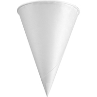 Konie Rolled Rim Paper Cone Cups KCI40KRCT