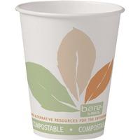 Solo Bare Eco-Forward SS PLA Paper Hot Cups SCC378PLAJ7234