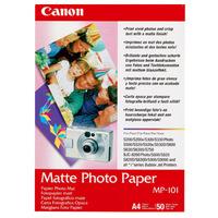 Canon 7981A005 Photo Paper - A4 - 210 mm x 297 mm - Matte - 50 x Sheet