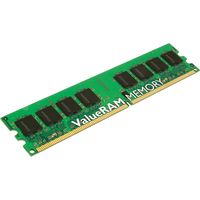 Kingston ValueRAM KVR667D2N5/1G RAM Module - 1 GB (1 x 1 GB) - DDR2 SDRAM - 667 MHz DDR2-667/PC2-5300 - Non-ECC - CL5 - 240-pin