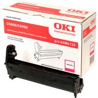 Oki 43381722 LED Imaging Drum - Magenta