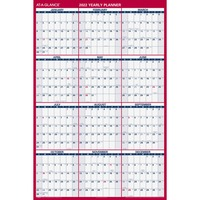 At-A-Glance Laminated and Erasable Wall Calendar AAGPM32628