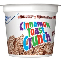 General Mills Cinnamon Toast Crunch Cereal, Single-Serve 2.0oz Cup, 6/Pack AVTSN13897