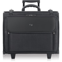 """Solo Classic Carrying Case (Roller) for 17"""" Notebook, Accessories - Bl USLB1514"""