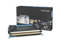 Lexmark Toner Cartridge - Laser - Standard Yield - 6000 Pages - Cyan - 1 Each (C734A2CG)