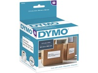 Dymo LW Shipping Labels - 2 1/10IN Width x 4IN Length - Rectangle - White - 220 / Roll (30323)