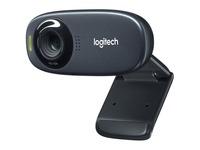 Logitech C310 Webcam - Black - USB 2.0 - 1 Pack(s) - 1280 x 720 Video (960-000585)