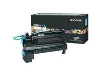 Lexmark X792 Original Toner Cartridge - Laser - 20000 Pages - Cyan - 1 Each (X792X1CG)