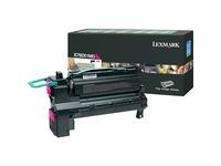 Lexmark X792X1MG Original Toner Cartridge - Laser - 20000 Pages - Magenta - 1 Each (X792X1MG)