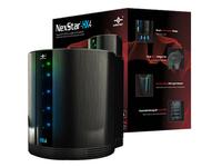 Vantec NexStar HX4 NST-640SU3-BK Drive Enclosure External - Black - 4 x Total Bay - 4 x 3.5IN Bay - eSATA, USB 3.0 - (NST-640SU3-BK)