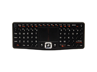 Visiontek Wireless Mini Keyboard with Touchpad - Wireless Connectivity - RF - USB InterfaceTouchPad - Compatible with (900508)