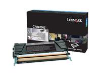 Lexmark Toner Cartridge - Black - Laser - High Yield - 12000 Pages (C746H2KG)