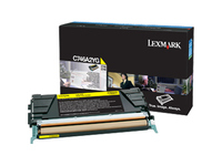 Lexmark Toner Cartridge - Yellow - Laser - Standard Yield - 7000 Pages - 1 / Pack (C746A2YG)
