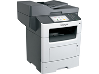 Lexmark MX611DHE Laser Multifunction Printer - Monochrome - Plain Paper Print - Desktop - Copier/Fax/Printer/Scanner (35S6702)