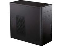 Antec System Cabinet - Mini-tower - Black - Steel - 5 x Bay - 1 x Fan(s) Installed - Micro ATX, Mini ITX Motherboard (VSK3000E)