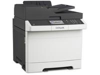 Lexmark CX410E Laser Multifunction Printer - Color - Plain Paper Print - Desktop - Copier/Fax/Printer/Scanner - 32 pp (28D0500)