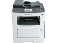 Lexmark CX410DE Laser Multifunction Printer - Color - Plain Paper Print - Desktop - Copier/Fax/Printer/Scanner - 32 p (28D0550)