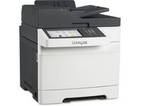 Lexmark CX510DE Laser Multifunction Printer - Color - Plain Paper Print - Desktop - Copier/Fax/Printer/Scanner - 32 p (28E0500)