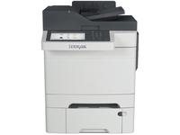 Lexmark CX510DTHE Laser Multifunction Printer - Color - Plain Paper Print - Desktop - Copier/Fax/Printer/Scanner - 32 (28E0550)