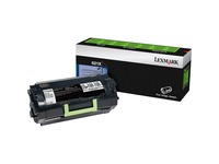 Lexmark Unison 621X Toner Cartridge - Laser - Extra High Yield - 45000 Pages - Black - 1 Each (62D1X00)
