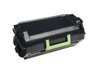 Lexmark Unison 520HA Original Toner Cartridge - Black - Laser - High Yield - 25000 Pages (52D0HA0)