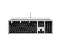 Matias Quiet Pro Keyboard for Mac - Cable Connectivity - USB 2.0 Interface - English (US) - Compatible with Computer (FK302Q)