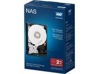 WD 2 TB Network NAS Hard Drive 3.5 inch SATA III up to 5-bay Systems - 64 MB Buffer - Retail (WDBMMA0020HNC-NRSN)