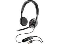 Plantronics Blackwire 500 Series USB Headset - Stereo - USB - Wired - 20 Hz - 20 kHz - Over-the-head - Binaural - Sup (88861-79)