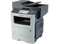 Lexmark MX611DFE Laser Multifunction Printer - Monochrome - Plain Paper Print - Desktop - Copier/Fax/Printer/Scanner (35S6744)