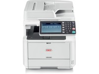 Oki MB492 LED Multifunction Printer - Monochrome - Plain Paper Print - Desktop - Copier/Fax/Printer/Scanner - 42 ppm (62444901)