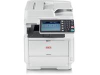 Oki MB562W LED Multifunction Printer - Monochrome - Plain Paper Print - Desktop - Copier/Fax/Printer/Scanner - 47 ppm (62445101)
