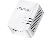 TRENDnet TPL-420E Powerline Network Adapter - 1 x Network (RJ-45) - 5000 Sq. ft. Area Coverage - 984.25 ft Distance S (TPL-420E)