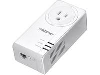 TRENDnet TPL-421E Powerline Network Adapter - 1 x Network (RJ-45) - 5000 Sq. ft. Area Coverage - 984.25 ft Distance S (TPL-421E)