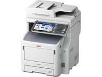 Oki MB700 MB760+ LED Multifunction Printer - Monochrome - Plain Paper Print - Floor Standing - Copier/Fax/Printer/Sca (62446001)